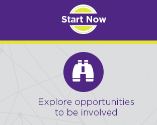 Explore opportunities to be involved